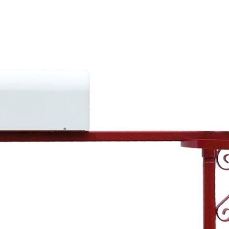 Swing Away Mailbox Post Red