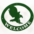 Welcome Signs Eagle - Green