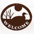 Welcome Signs Loon - Brown