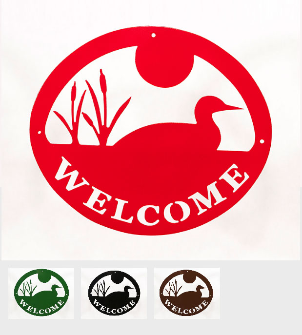 Welcome Signs - Loon - Tri-Color