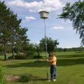Telescopic Birdhouse Pole